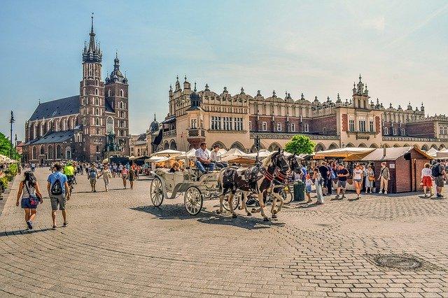 Stary Rynek w krakowie