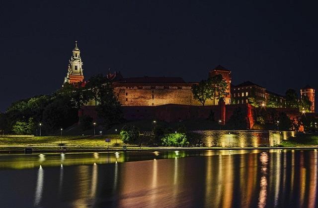 Zamek na Wawelu w krakowie