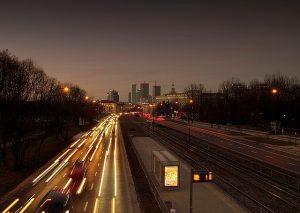 Panorama Warszawy, droga